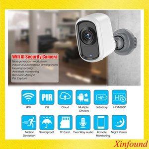 1080P Ip Wifi della macchina fotografica fotografica esterna dell'interno 6400mhA ricaricabile Batteria Weerbestendige Cctv Pir Movimento Allarme Ir