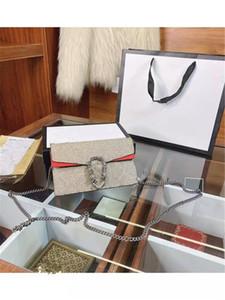 I nuovi pacchetti di clamshell catena Dionysian in MS Single Genuine Show Badbag Borse Borse Borse Borse Borse Borse Vintage Messenger