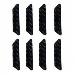 Lavable Inicio Potente alfombra de la manta etiqueta de ducha Suelo Esquinas Pinza No Trace extraíble Anti Slip reutilizable doble cara PQnA #