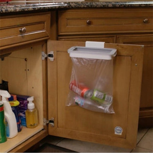 Bag Storage Rack Cupboard Bathroom Hanging Holders Trash Toys Food Containers Kitchen Accessories Supplies