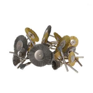 UtoRoolmart 1 conjunto de escovas de cobre / aço kit 24 pcs / set 32pcs / set 45pcs / set mini pincéis para polimento de alta qualidade1