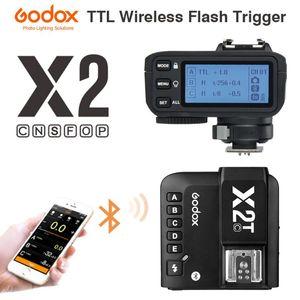Godox X2T-C X2T-N X2T-S X2T-F X2T-O X2T-PL Wireless Flash Trigger для камеры Bluetooth Подключение HSS