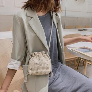2020 New Women Joker Crossbody Fashion One Shoulder Drawstring Dumplings Handbag Drop shipping Bolso Mujer Bandolera LL