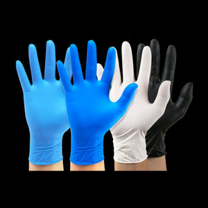 Disposable gloves nitrile glove protective gloves waterproof and anti-corrosion 100pcs   lot Cleaning Gloves Cleaning Tools 94 N2