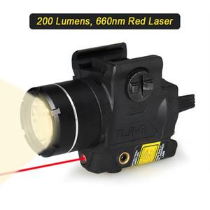 Trijicon الصيد المدمجة ضوء مع البصر بالليزر الأحمر العالمي ليزر مصباح يدوي 200 شمعة شحن مجاني CL15-0134