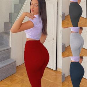 Femmes taille élastique longues Pantalons Mode Tendance taille haute Casual Sport Pantalon Jogger Designer Femme Nouveau desserrées droite Pantalons Crayon