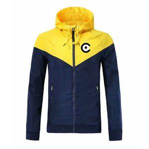 Cercle Brugge Autumn and Winter Fashion Sports Jacket Football Long Sleeve Windbreaker Full Zipper Breathable Comfortable Jacket
