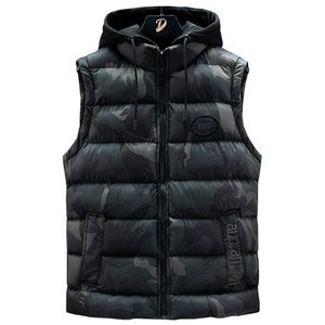 2020 Fashion Winter Jacket Parka Homme Classical Mens Jacket Mens Winter Coats Warm Vests Down Jacket 3 colors Size M-7XL