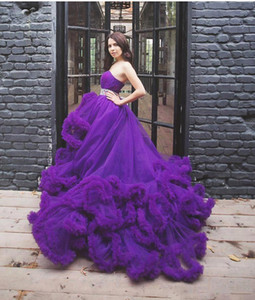 New Arrival Colorful Princess Wedding Dresses Sweetheart Ruffles Backless Country western Wwedding Dress custom Made Bridal Gowns