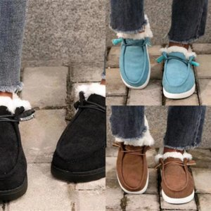 GLWNS Boot Real Australie Mâle de haute qualité Nouveaux Bottes de neige mâles Mâle Coton Pad Femmes Chaud Bottes De Neige Boucles Designer Ladys Coton d'hiver