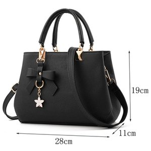 Women Leather Handbag Shoulder Ladies Purse Messenger Satchel Crossbody Tote Bag free shipping