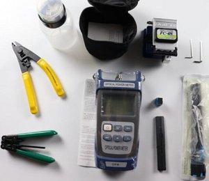 FC-6S 섬유 Cleaveroptical Power Meter Device1이있는 광섬유 FTTH 도구 키트