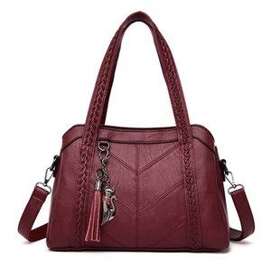 Female Designers Women Casual Bag 2021 Big Handbag Luxurys Leather Tote For Bags Ladies Vintage Large Crossbody Shoulder Jsknt
