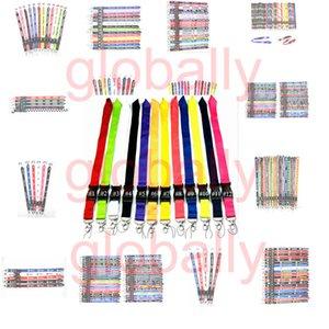 Mobiltelefon-Lanyard-Halter Umhängeband Schlüsselanhänger ID-Karte Straps abnehmbare Halsbänder Kleidung Marke Logo Schnelle Lieferung