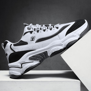 High quality men women platform shoes sneakers cream yellow red beige grey triple black navy white purple multi color mens running trainers