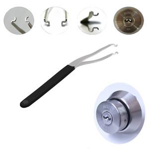 Çok İşlevli Metal Sıra Gerginlik Çubuk Çilingir Araçları Çilingir Kaynağı için İtme Çubuk Tüpleri Anahtarı