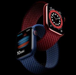 مضفر حلقة سولو حزام ل أبل ووتش سلسلة 6 الفرقة 5 / SE / 4 40MM Watchbands 44mm Watchbands for iwatch Series3 / 2/1 38mm 42mm