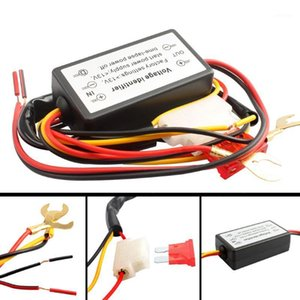 1 PCS DRL Controlador Auto Car LED Daytime Running Lights Controller Relay Harness Dimmer On / Off 12-18V FOG Light1