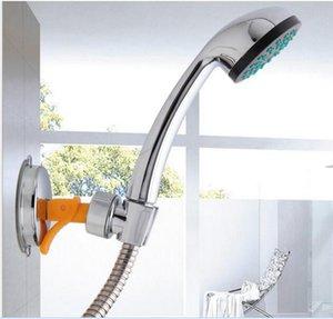 Bathroom Shower Heads Bracket Seat Bathroom Adjustable Shower Head Holder Rack Bracket Suction Cup Wall Mounted Replacement Holder