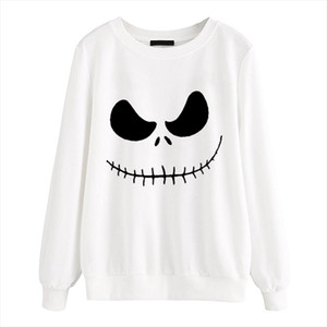 New arrival Jack Skellington Women pullovers Evil Smile hoodies 2020 autumn kpop sweatshirt femme harajuku casual brand clothing