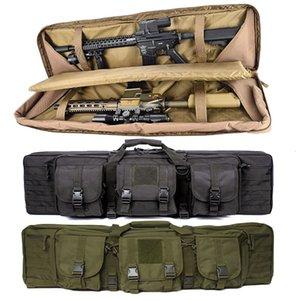 Doppio zaino Carabina sacchetto della pistola del fucile militare 36 pollici per M4 AK47 Airsoft Borsa ripresa portatile ingranaggio di protezione di caccia Holster 201022