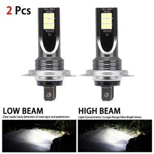 Fog Lights H7 80W 10000Lm Car LED Headlight Kit Conversion Globes Beam 6000K Lamps Light Bulbs For Cars Super Bright1