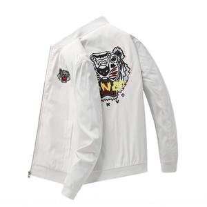 hX2Jr Tiger cabeça bordado primavera dos homens 2020 marca de moda coreana jaqueta nova moda masculina jaqueta casaco jaqueta casual