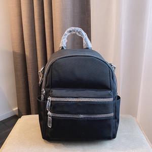 Нейлон Рюкзак Ретро Trend Crossbody Bag Lady Knaxack Big Pocket School рюкзак Сумка DrawString Сумка Широкий Плечо Звездный B Большой карман
