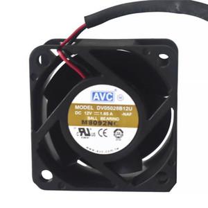 For AVC DV05028B12U 5028 50X50X28mm 5cm DC 12V 1.65A 4 wire server inverter pwm cooling fan