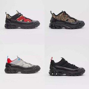 Boutique de la manera ocasional de los hombres y mujeres de las zapatillas de deporte de nitrógeno combinación suela de los zapatos ocasionales de cristal inferior padre corrector 35-45 br260 02