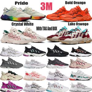 adidas ozweego Hombres Mujeres Zapatos para correr Todo Negro Blanco Verde Rojo Rosa Gris Zapatillas deportivas de alta calidad hombre Zapatillas de deporte para mujer Tamaño 36-45