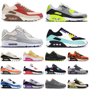 men women 90s outdoor running shoes dio bacon bright violet tennis sport moss green orange blue air
