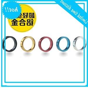 Zeitverzögerung Farbe Bunte Geschmack, feiner Fixierhülse, Metallring, Flutqualität, Multicolor
