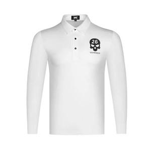 Pxg2020 golf giysileri yeni uzun rahat ve nefes alabilen rahat gömlek spor polo sleeve