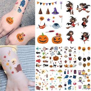 7.5 * 12cm Temporary nette Kinder Tattoo Sticker Designs EC Cartoon Fox Flamingo Tierkörper-Kunst-Tätowierungen