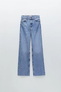 2020 Autumn and winter show black show thin high waist new jeans woman