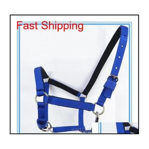 Horse réglable Halter Bridle Pony Fixe Rein Bande Durable Equitation Accessoires Qyljqj Sports2010