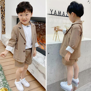 Girls Boys Suits for Weddings Kids Blazer School Suit for Boy Costume Toddler Boys Suits Set Formal Girl Suit Children Clothes efwe