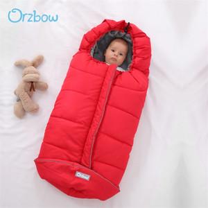Orzbow Universal Baby Poussette Footmuff Sacs d'hiver Sacs de couchage Neufborn dans la maison Chaud Infant Sleepsacks pour poussette 201104