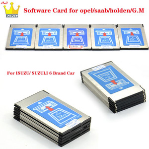 Top Quality Tech 2 32MB Software Card for G-M SAAB  S-UZUKI I-SUZU Holden 6 Kinds Memory card for Tech2 Auto Scanner