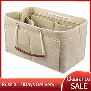 Sale-Insert Felt Cloth Bags Inner Organizer Makeup Purse 25 Handbag SPEEDY 30 Portable For Cosmetic Bag Travel Nebgb Rwfkv