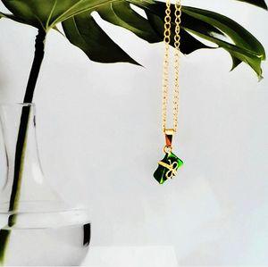 New arrival Lovers Dragon Boat Festival handmade oil dumplings necklace three-dimensional pendant student DIY pendant jewelry men and women