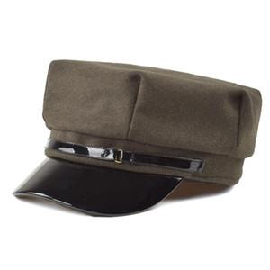 2020 Высококачественные мужские дамы TWEED GATSBY PACTWORK CAP HAT 8 Панель Baker Boa Boy Newsboy Cabbie Регулируемая кепка Берета