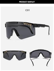 Новые велосипедные очки Double Wide Brand Rise Pit Viper Солнцезащитные очки Двухместный Поляризованный Зеркальный объектив TR90 Рамка UV400 Защита C1
