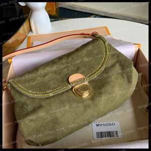 Handtasche Frauen Luxurys Designer Crossbody Taschen 2021 Mode Vintage Denim Umhängetasche Jeans Designer Womens Handtaschen Geldbörsen Tasche Nice
