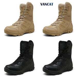 HBP Vancat Hommes Haute Qualité Marque Military Force Spécial Force Spéciale Désert Tactical Chaussures d'extérieur Chaussures de la cheville Q1217