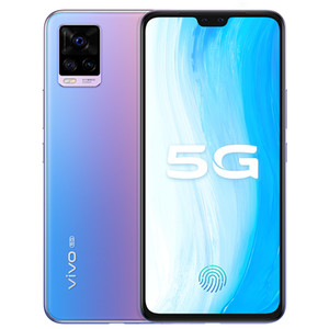 """Оригинальный Vivo S7 5G мобильного телефона 8GB RAM 128GB 256GB ROM Snapdragon 765G окт Ядро 64MP Android 6,44"""" экран отпечатков пальцев ID лицо сотовый телефон"""