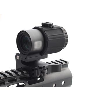 Neues Produkt Tactical G43 3x Lupe Scope Sehenswürdigkeit mit QD Mount Fit für 20mm Rail Airsoft Accessoire