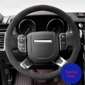 DIY Car Steering Wheel Cover for Land Rover Range Rover Sport Range Rover Evoque Discovery 4 5 Velar Freelander 2