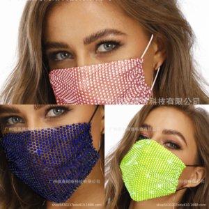CBJ Masquerade Crystal Cat Chrinestone Новые бриллиантные женские женские украшения партии маска